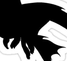 We Have Dragons (Blue) Sticker