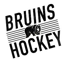 Bruins Hockey by mhenderson95