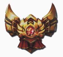 League of Legends- Gold Rank by fearmatthew