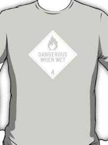 HAZMAT 4.3 Dangerous when Wet T-Shirt