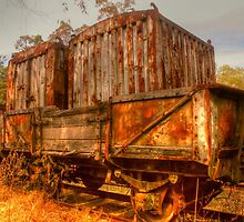 Rusty Time Worn Treasures by Michael Matthews