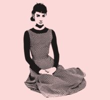 Audrey Hepburn Sits Pretty by Museenglish