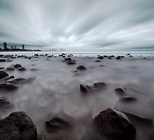 On the Rocks - Burleigh Heads Qld Australia by Beth  Wode