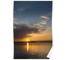 Good Morning, Toronto with a Glorious Sunrise Poster