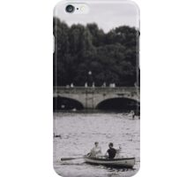 Row Boats in Stratford-upon-Avon iPhone Case/Skin