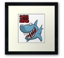 Guess who found Nemo Framed Print
