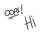 Oops! Hi by Brianna Murray