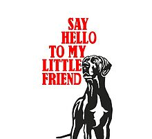Little big dog, say hello by Doggenhaus