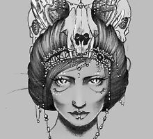 Skull Queen  by France Mansiaux