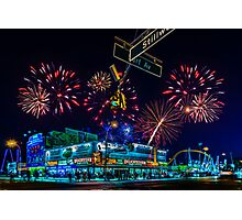 Saturday Night At Coney Island Photographic Print