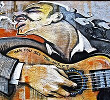 The Guitarist © by Ethna Gillespie