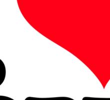I <3 Jorts Sticker