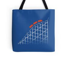 I'm on a roller coaster that only goes up (dark shirts) Tote Bag