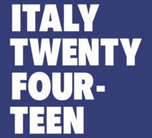 Team Italy for the World Cup 2014 by everysaturday