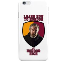 Learn How to Hordor at Hordor High iPhone Case/Skin