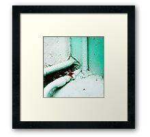 { Corners: where the walls meet #04 } Framed Print