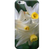 White Daffadills iPhone Case/Skin