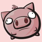 Floating Piggie by exeivier