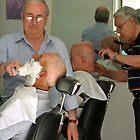 The barbers of Bari - Italy by Arie Koene