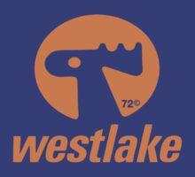 Orange Elk Logo T-Shirt by Westlake1972