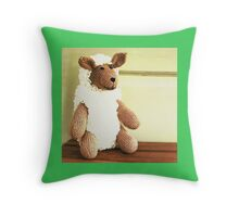 Ba ba lamb mint sauce? Throw Pillow