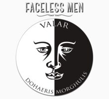 Faceless Men  T-Shirt
