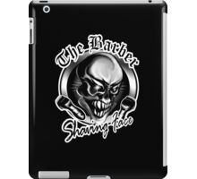 Barber Skull: Shaving Face iPad Case/Skin