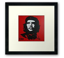 Red Che Framed Print