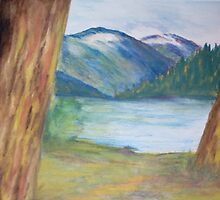 Between the Pines by Lynda Earley