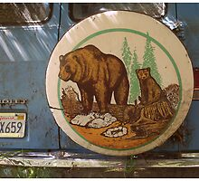 Bears on a Van by Daniel Gallegos
