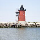 Inerbreakwater light by Joseph Allert