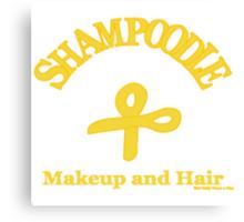 Shampoodle Scissors Canvas Print