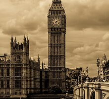 Big Ben - antique by Anastasia E