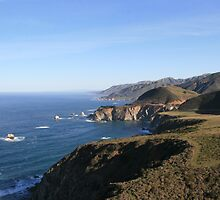 California PCH by juhnay