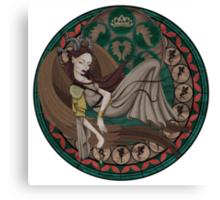 Maleficent Fairy Canvas Print