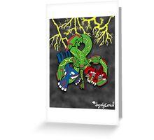 Rayquaza, Kyogre, & Groudon - Hoenn Remake Ahoy! Greeting Card