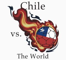 World Cup - Chile Versus the World Flaming Football by pjwuebker