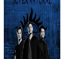 Supernatural Team Free Will by MishaHead