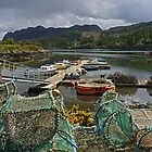 Plockton Harbour by Kat Simmons