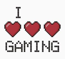 I love GAMING by Fawkes