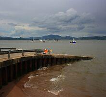 Rathmullan Pier by Adrian McGlynn