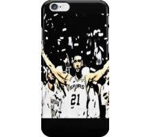 Tim Duncan Winning iPhone Case/Skin