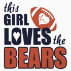BEARS Lady Fans Razorback Tank & Car Stickers! by ckim8888