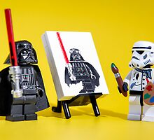 "Lego Star Wars Characters iPhone Cases and Table Covers: ""Imperial Portrait""  by Blue Toad Photography"