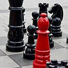 Anyone for a game of Chess? by Marylou Badeaux