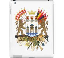 Greater Coat of Arms of Copenhagen  iPad Case/Skin