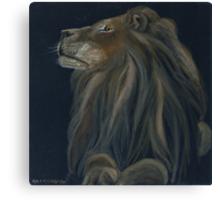 Proud lion Canvas Print
