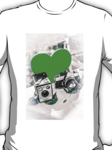 I ♥ Photography Green T-Shirt