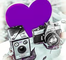 I ♥ Photography Purple by Livonne