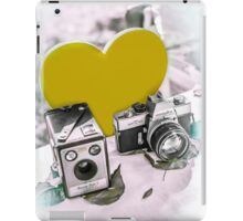 I ♥ Photography Yellow iPad Case/Skin